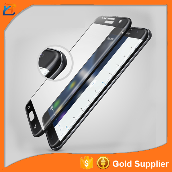 HD clear anti friction premium tempered glass screen protective films for samsung galaxy s7 edge