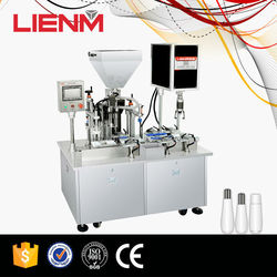 Automatic Liquid Condiment Filling Machine in Stainless Steel