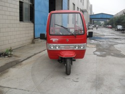 Front Cabin 150cc Three Wheel Motorcycle Optional Color For Sale