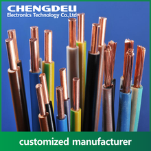 customized tinned or bare copper pvc wire for electrical purpose