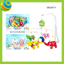 Plastic Electric Children Wind Up Musical Bed Bell Toy