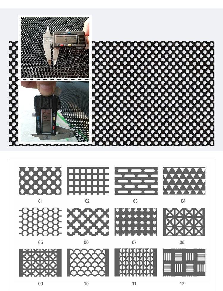 Factory price supply perforated metal mesh curtain for living room deco