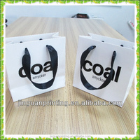 2015 hot sale recycled shopping lamination custom paper bag factory price