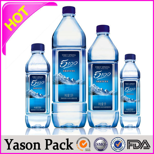 Yason qc pass label sticker bottle label sticker