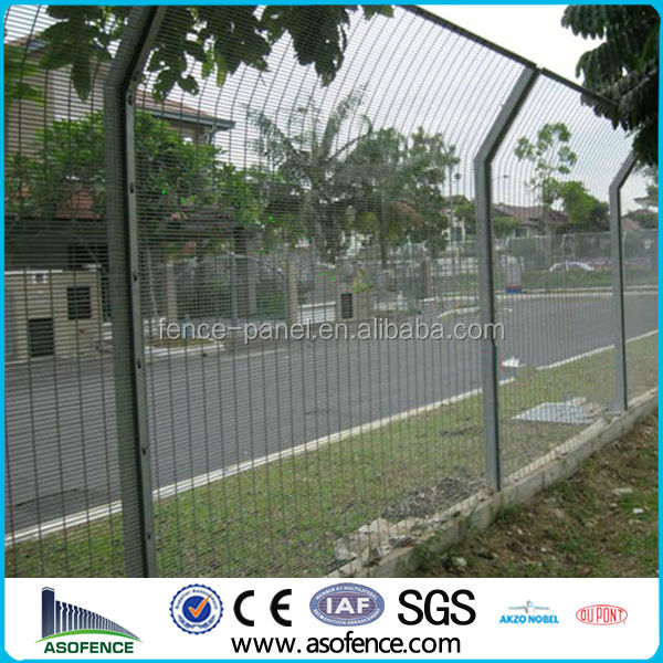 BS 1722-14:2006 small hole high security 358-mesh fencing