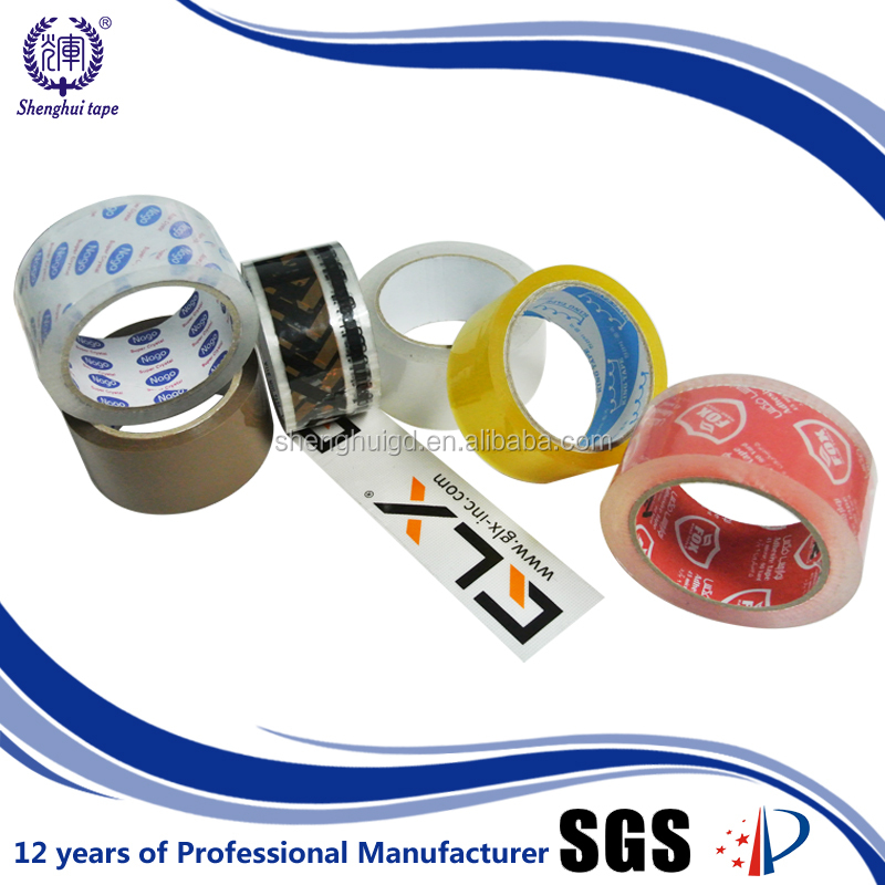 hs code tape for carton packing with different size