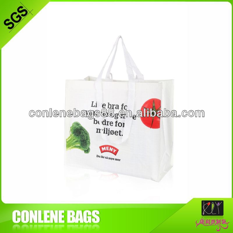 reusable plastic shopping trolley bag