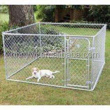 Large outdoor dog cage chain link pet enclosure 4m*3m*1.8m for large dog