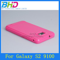 2013 TPU jelly color Cellphone Case for Samsung I9100 galaxy S2