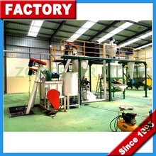 CE Animal Poultry Chicken Feed Pellet Production Line / Chicken Feed Pellet Production Line