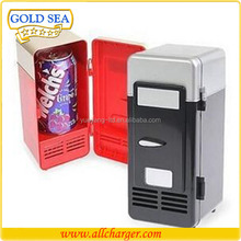 creative fast cool usb portable mini refridge can shape mini usb fridge