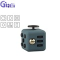 Decompression Cube Smooth Button Desk Toy Kids Relieves Stress Fidget Cube