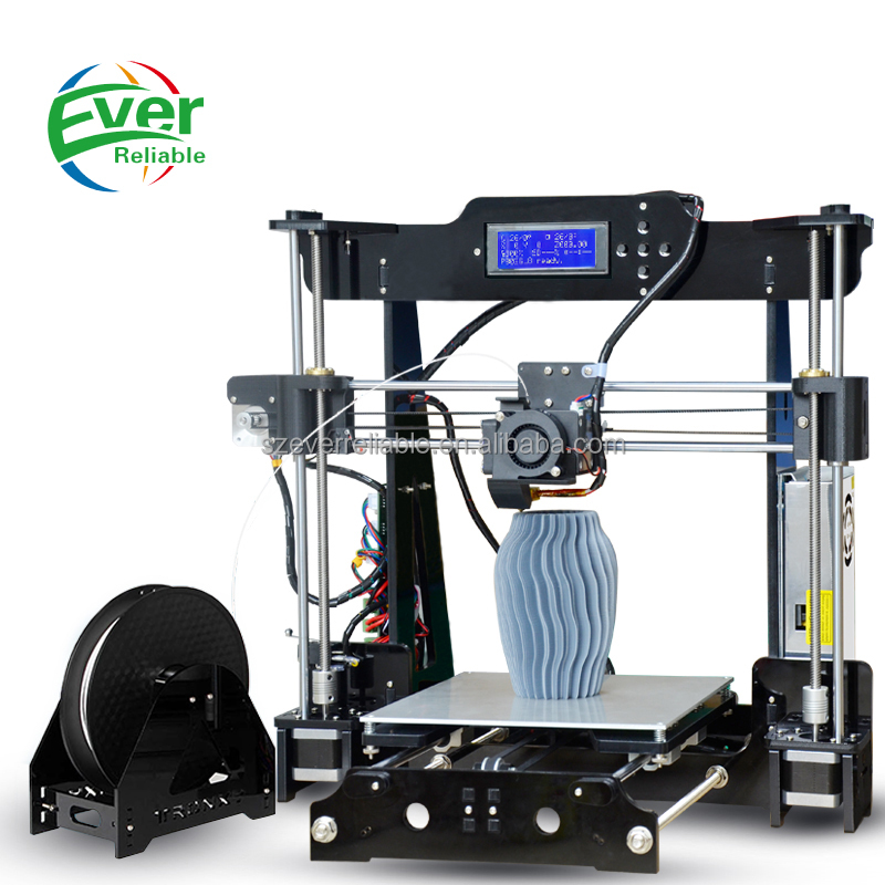 2017 New Fashion High Quality 3D Printer High Resolution 3D Printing Machine Factory Dircect Supply