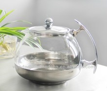 1200ml pyrex glass coffee pot,thermal coffee pot,glass cooking pot