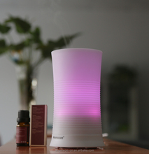 100ml household ultrasonic aroma diffuser electric air humidifier mist maker fogger with 7 color LED light