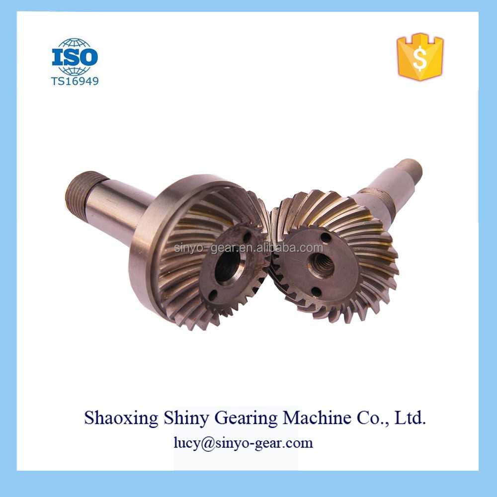 OEM Shiny Car Automobile Spiral Bevel Gear
