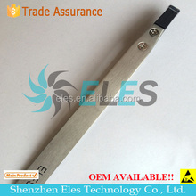 stainless steel tweezers with ESD spray coating