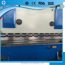 Baiwei manufacturer 80t 3200mm CNC Hydraulic Press brake automatic steel blade bending machine with Delem DA52S System