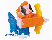 New Arrival 12 constellations plastic assembling blocks toys, kids DIY block toys