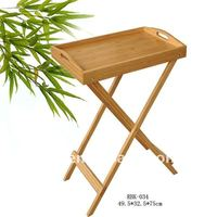 multi-functional bamboo breakfast table,bamboo products