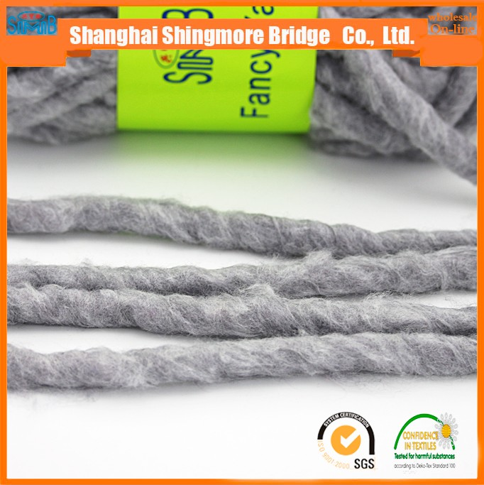 wool yarn supplier wholesale cheap price acrylic wool felt yarn for hand knitting carpet in high quality