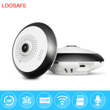 3d vr camera IP 1080P 2MP Home Security IP Camera Wifi Two Way Audio WebCam SD Card Slot
