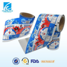 Hot ! Printed plastic food packaging candy film