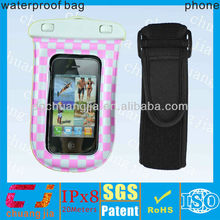2015 underwater mobile phone cover for iphone /waterproof cover for diving