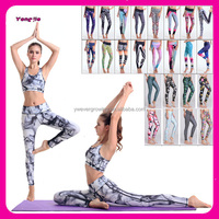 Factory Directly Wholesale Sexy 3D Print Sublimated Sportwear Tight Quick-drying Yoga Leggings for Women