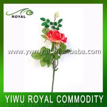 Real Touch Latex Rose Wedding Stage Flower Decoration