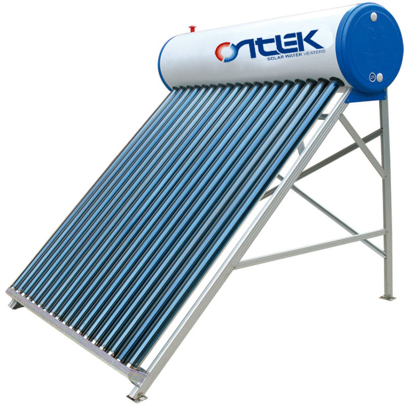 solar hot water,solar energy water heaters with intelligent controller,automatical controller low pressure solar water heater