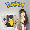 Pokemon Phones Mobile Case For iPhone 6 or 7 Customized Pokemon Go Case Pattern