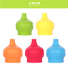 2017 Latest design best quality toddler silicone sippy cup lid
