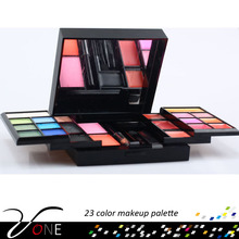 P23#3 Cosmetic nature mineral component 23 color eyeshadow palette