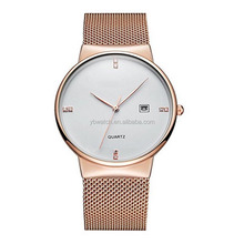 Classic Charm Men's Japan Movt Quartz Watch Stainless Steel Back Watches Ladies Timepieces