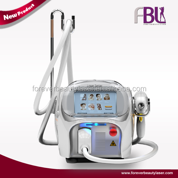 Portable Long Pulse Nd Yag Laser For Blue Vein Removal with CE approved Made in Beijing