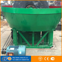 China lowest price silver copper zinc iron lead ore dressing small gold mill plant wet pan for sale