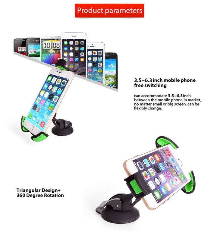 Mobile phone car windshield mount holder for iphone mobile car holder buy car holder car