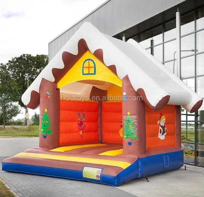 Hola christmas bounce house/bouncy castle/adult bounce house