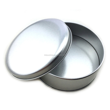 wholesale printing aluminium tin can round 4 oz candle tin