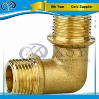 custom high quality threaded copper pipe fittings