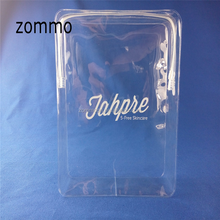 Recyclable Quadrate Plastic PVC Clear Makeup Bag For Cosmetic