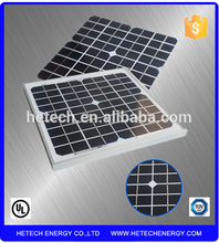 High efficiency Low price mini solar panel 10W mono high voltage solar panels