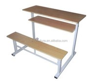 Cheapest Modern Steel foldble Reading Table dining table for school furniture