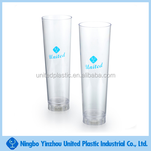 Promotional 32oz plastic drinking glass with LED for drinks and liquor