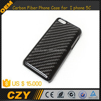 Real Carbon Fiber Phone Case for I phone 5C