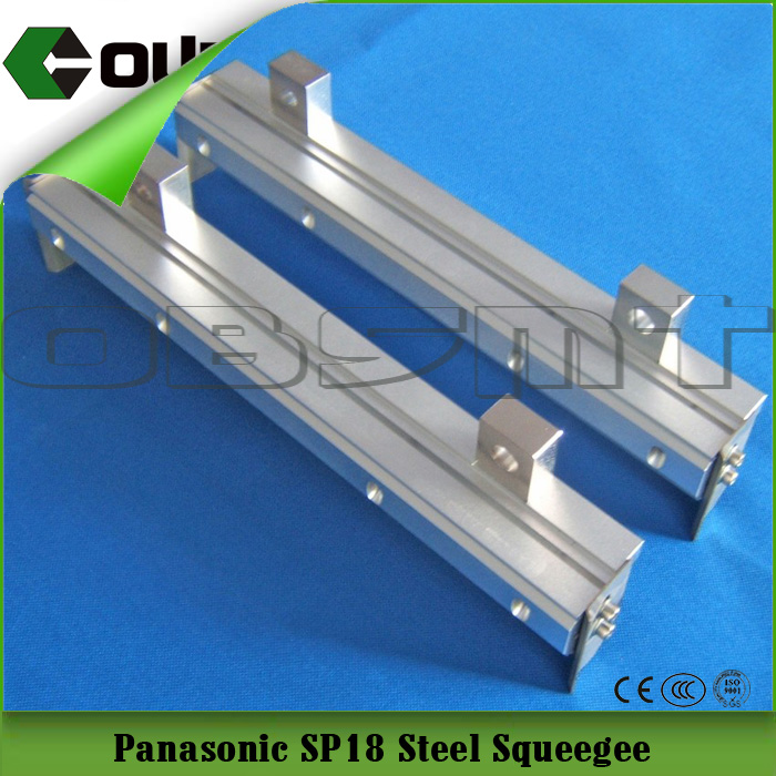 Supply Panasonic SP18 steel squeegee,smt samsung squeegee