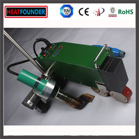 Multifunction hot air welder for thermoplastic films