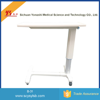 Best Quality Steel Hospital portable bedside table for patient