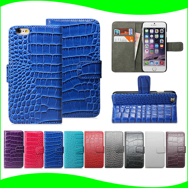 low price alibaba express latest crocodile pattern flip leather phone case for iphone 5